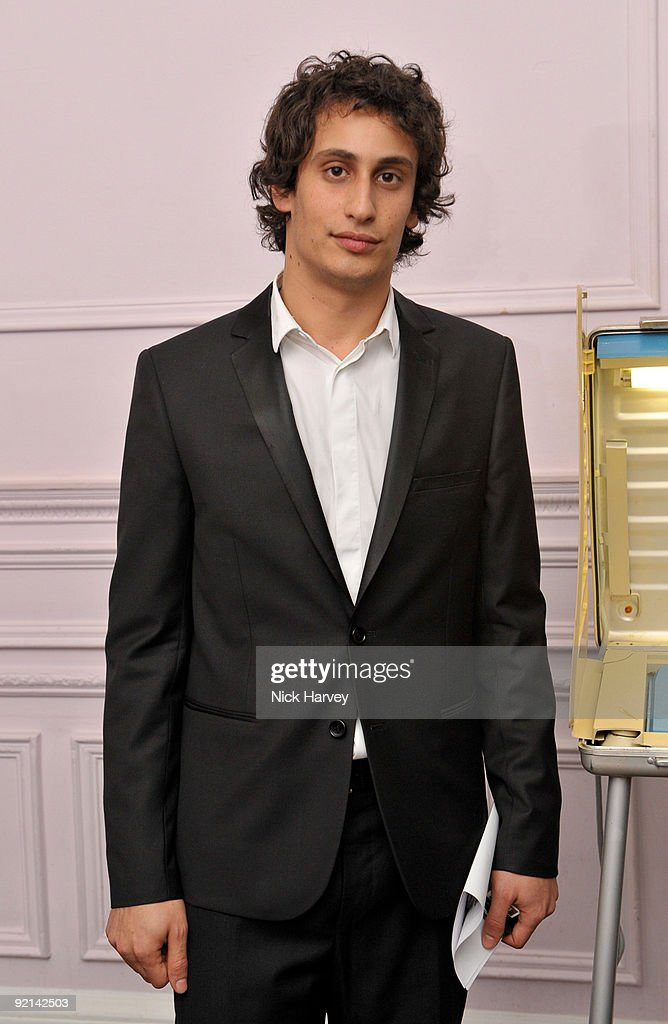 Alex Dellal attend the opening night of 'The Embassy' exhibition at 33 Portland Place on October 15, 2009 in London, England.
