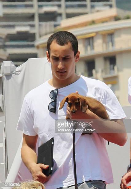 Alex Dellal attends the 15th Monte Carlo International Jumping on June 25 2010 in MonteCarlo Monaco