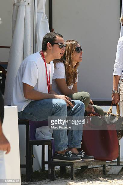 Alex Dellal is spotted during the '30th International Cannes Jumping' Global Champion Tour 2011 on June 11 2011 in Cannes France