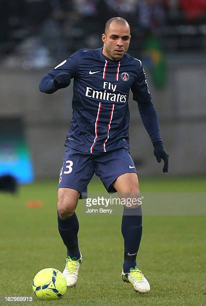 Alex Dias Da Costa of PSG in action during the french Ligue 1 match between Stade de Reims Champagne FC and Paris SaintGermain FC at the Stade...