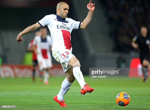 Alex Dias Da Costa of PSG in action during the french Ligue 1 match between LOSC Lille and Paris SaintGermain FC at the Grand Stade Pierre Mauroy on...