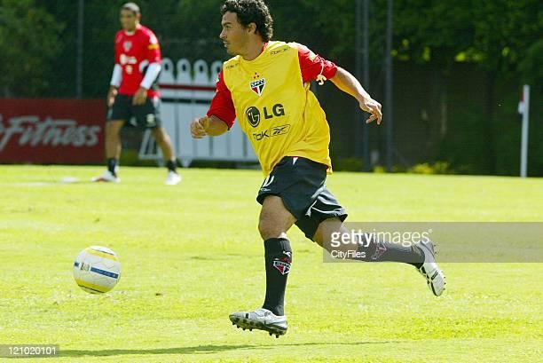 Alex Dias of the new Brazilian champions FC Sao Paulo