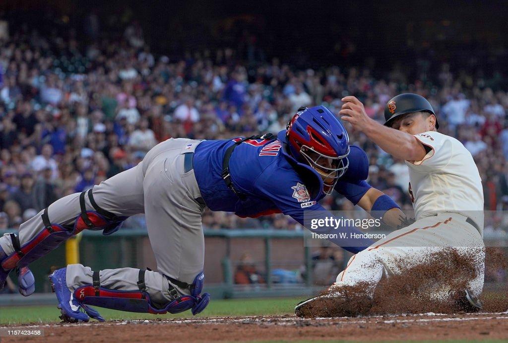 Chicago Cubs v San Francisco Giants : News Photo