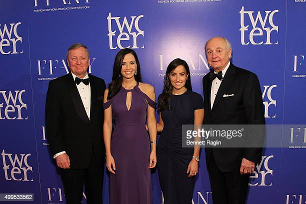 Alex Dillard Alexandra Dillard Michelle Dillard and Jim Issler attend the 76th Annual Two Ten Footwear Foundation dinner and awards on December 1...