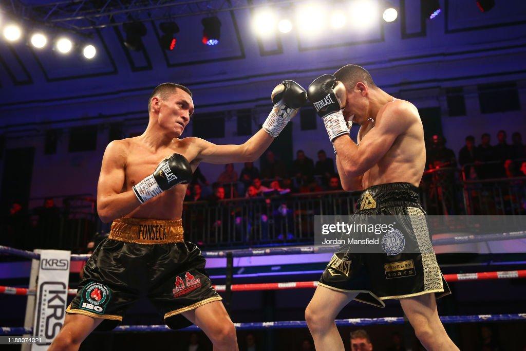 Alex Dilmaghani v Francisco Fonseca - IBO World Title Fight : ニュース写真