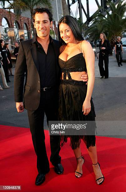 Alex Dimitriades and Terry Biviano during 2004 Lexus IF Awards at Luna Park in Sydney Australia