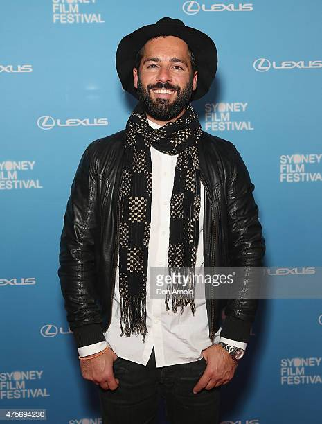 Alex Dimitriades arrives at the Sydney Film Festival Opening Night Gala at the State Theatre on June 3 2015 in Sydney Australia