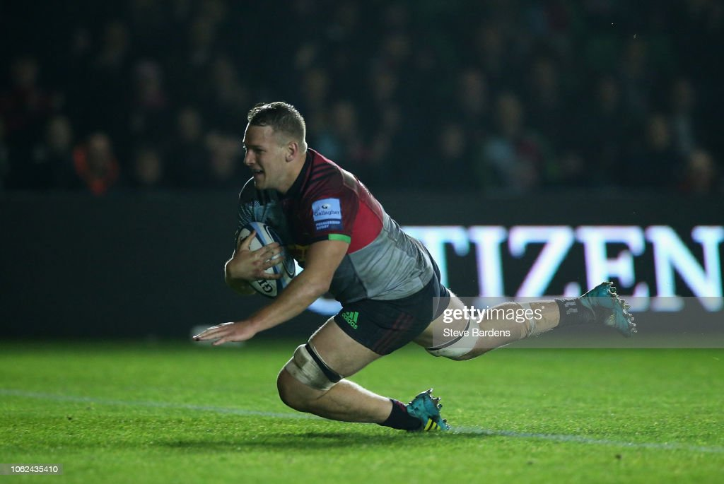 Harlequins v Newcastle Falcons - Gallagher Premiership Rugby : News Photo