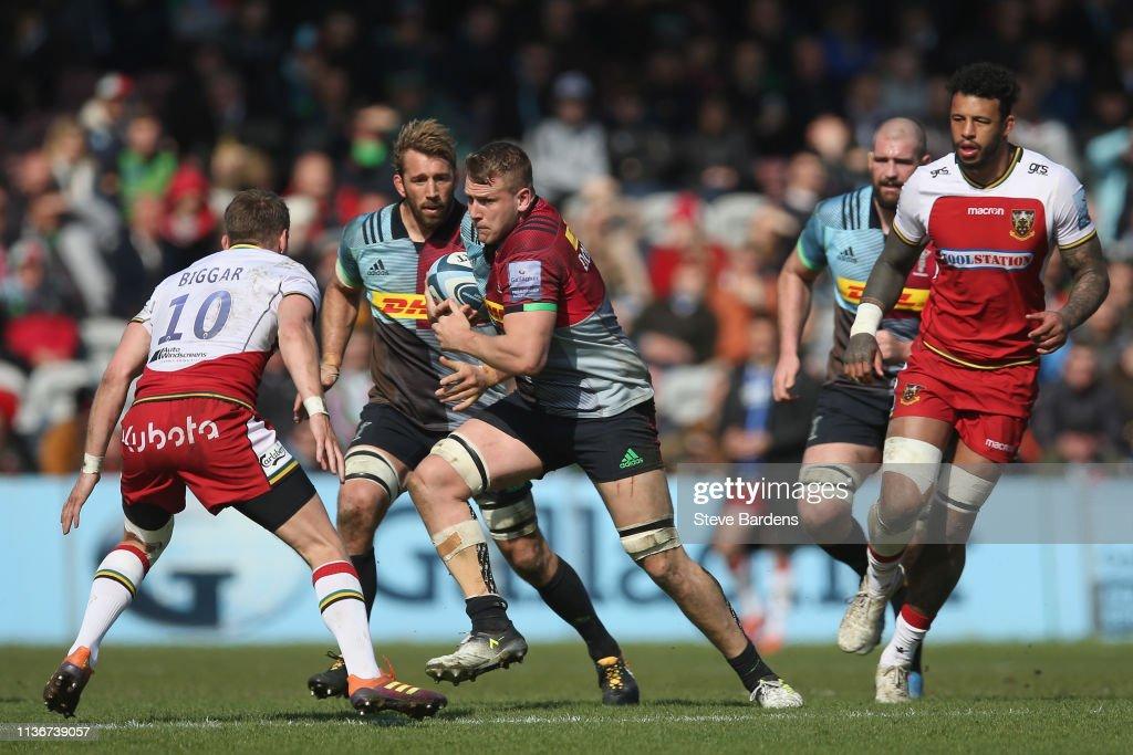 Harlequins v Northampton Saints - Gallagher Premiership Rugby : News Photo