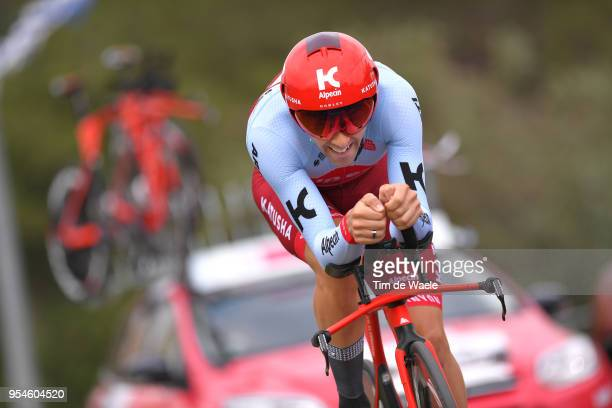 Alex Dowsett of Great Britain and Team Katusha-Alpecin / during the 101th Tour of Italy 2018, Stage 1 a 9,7km Individual Time Trial from Jerusalem to...