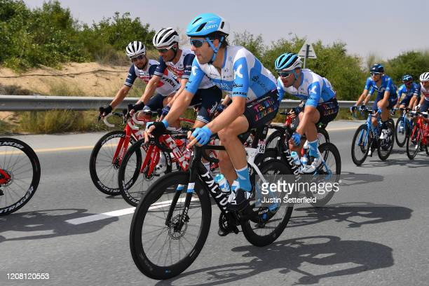 Alex Dowsett of The United Kingdom and Team Israel Start-Up Nation / Rudy Barbier of France and Team Israel Start-Up Nation / Peloton / during the...