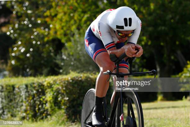 Alex Dowsett of The United Kingdom / during the 93rd UCI Road World Championships 2020, Men Elite Individual Time Trial a 31,7km race from Imola to...