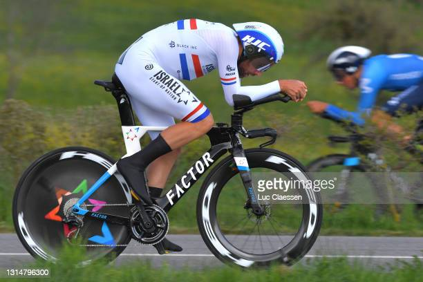 Alex Dowsett of United Kingdom and Team Israel Start-Up Nation during the 74th Tour De Romandie 2021, Prologue a 4,05km Individual Time Trial stage...