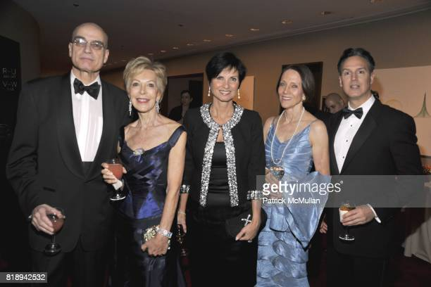 Alex Dube Anka Palitz Georgia Mouzakis Tavlarios Etan Merrick and Michael Wise attend Literacy Partners Evening of Readings Gala at David H Koch...