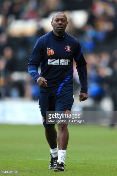 Alex Dyer Charlton Athletic assistant manager