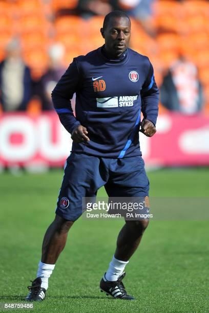 Alex Dyer Charlton Athletic's assistant coach