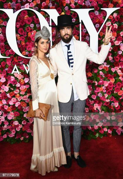 Alex Ebert attends the 72nd Annual Tony Awards at Radio City Music Hall on June 10 2018 in New York City