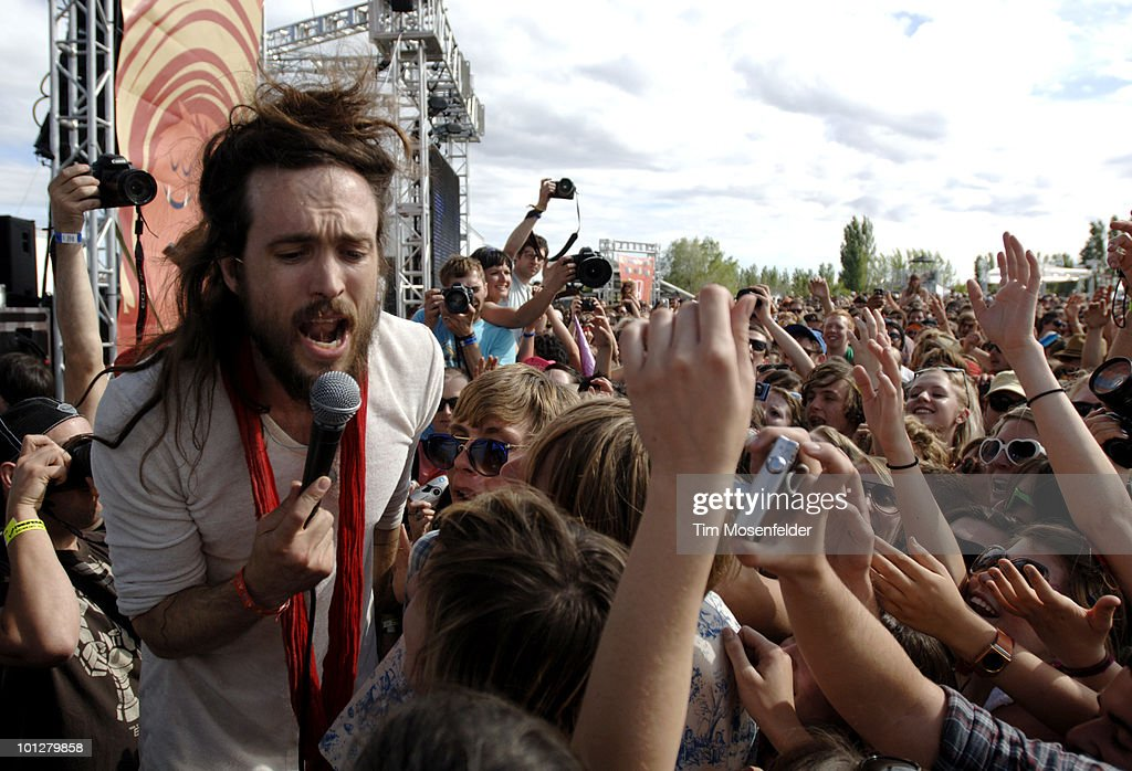 Alex Ebert of Edward Sharpe and the Magnetic Zeroes performs as part of the Sasquatch Music Festival at the Gorge Amphitheatre on May 29, 2010 in George, Washington.