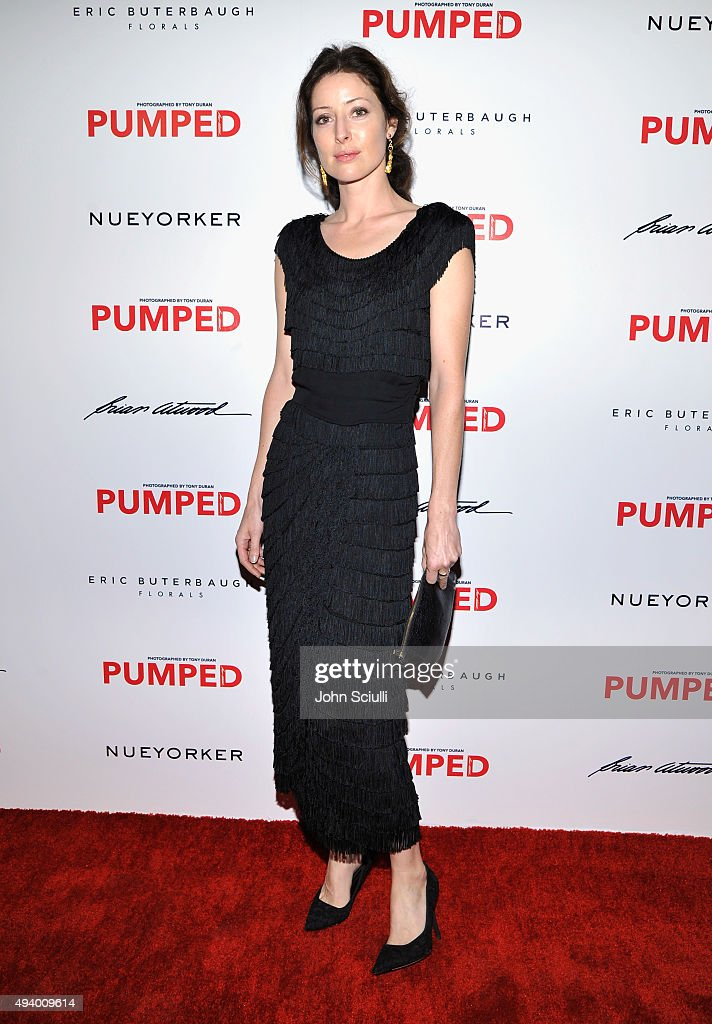Alex Edenborough attends Brian Atwood's Celebration of PUMPED hosted by Melissa McCarthy and Eric Buterbaugh on October 23, 2015 in Los Angeles, California.