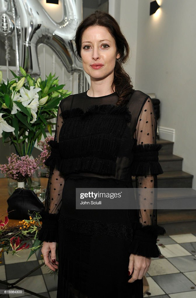 Alex Edenborough attends Preen by Thornton Bregazzi private dinner hosted by Brigette Romanek and Estee Stanley on October 18, 2016 in Los Angeles, California.