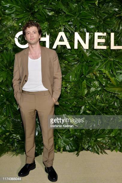 Alex Fitzalan attends Chanel Dinner Celebrating Gabrielle Chanel Essence With Margot Robbie on September 12 2019 in Los Angeles California