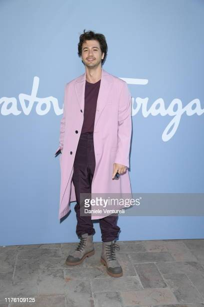 Alex Fitzalan attends the Salvatore Ferragamo show during Milan Fashion Week Spring/Summer 2020 on September 21 2019 in Milan Italy