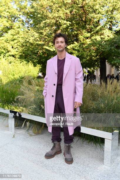 Alex Fitzalan attends the Salvatore Ferragamo show during Milan Fashion Week Spring/Summer 2020 on September 21, 2019 in Milan, Italy.