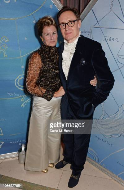 Alex Foulkes and Nick Foulkes attend the Claridge's Zodiac Party hosted by Diane von Furstenberg Edward Enninful to celebrate the Claridge's...