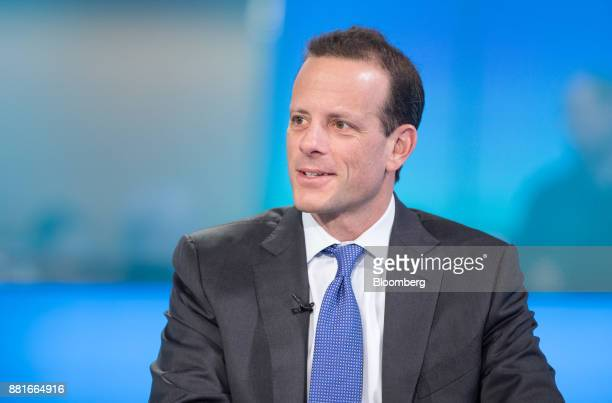 Alex Friedman chief executive officer of GAM Holding AG speaks during a Bloomberg Television interview in London UK on Wednesday Nov 29 2017 Friedman...