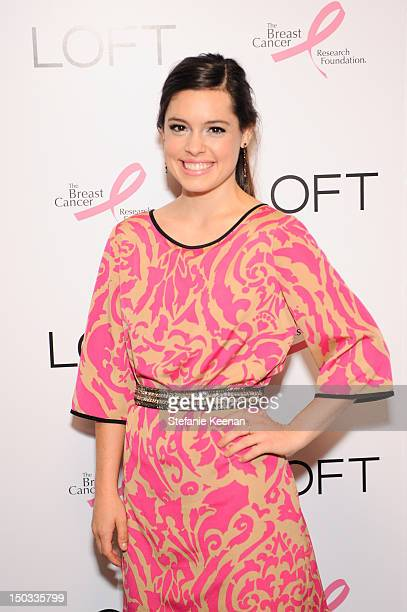 Alex Frnka attends LOFT And Giuliana Rancic Celebrate The Launch Of Live In Pink In Support Of BCRF at Petit Ermitage Hotel on August 15 2012 in West...