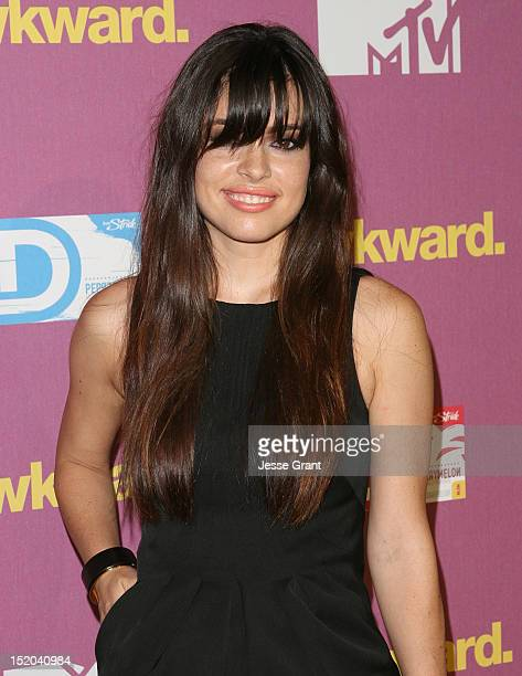 Alex Frnka attends MTV's Awkward Season 2 Finale Event at The Colony on September 10 2012 in Los Angeles California