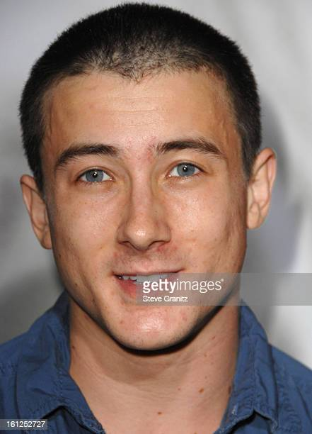 Alex Frost arrives at the Los Angeles Premiere of 'Milk' at the Academy of Motion Pictures Arts and Sciences on November 13 2008 in Beverly Hills...