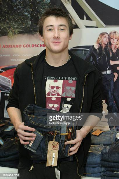 Alex Frost at Adriano Goldschmied during HBO Luxury Lounge Day 1 at Four Seasons Hotel in Beverly Hills California United States