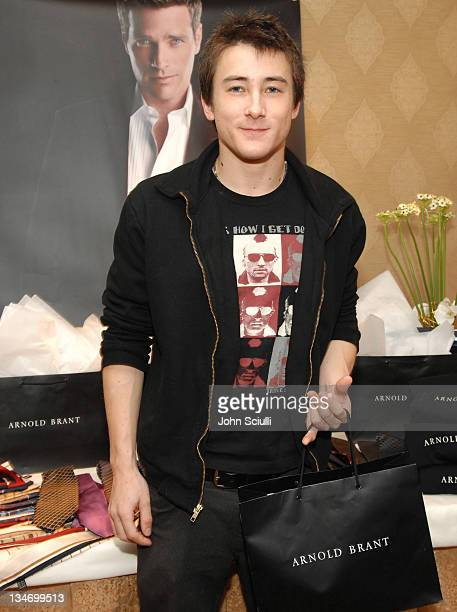 Alex Frost at Arnold Brant during HBO Luxury Lounge Day 1 at Four Seasons Hotel in Beverly Hills California United States