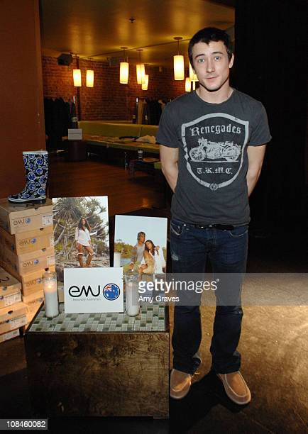 Alex Frost at THINK PR's 3rd Annual PreSundace Lounge Day 2 at the Muse Life Style Group Lounge on January 9 2009 in Hollywood California