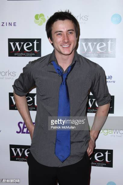 Alex Frost attend WET Presents LOVE A Benefit to Support WET's 10th Season at The Angel Orensanz Foundation on February 9 2009 in New York City