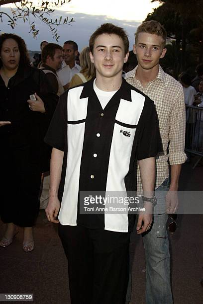 Alex Frost during 2003 Cannes Film Festival HBO Party at Martinez Beach in Cannes France