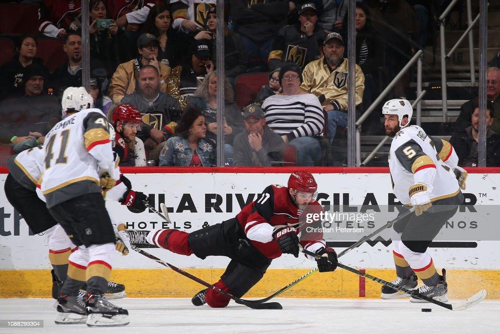 Vegas Golden Knights v Arizona Coyotes : News Photo