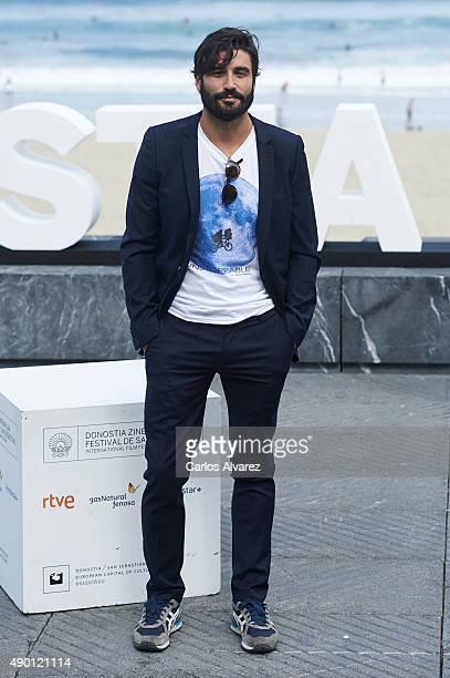 Alex Garcia attends 'La Novia' photocall during 63rd San Sebastian Film Festival at Kursaal on September 26 2015 in San Sebastian Spain