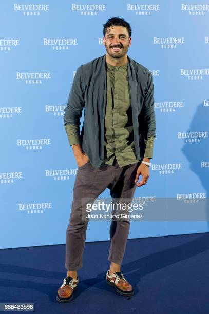 Alex Garcia attends the Belvedere Vodka party at the Pavon Kamikaze Teather on May 25 2017 in Madrid Spain