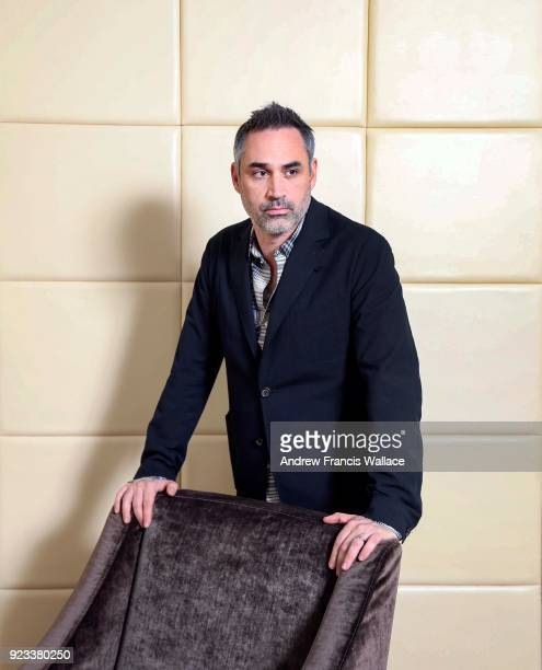 TORONTO ON FEBRUARY 12 Alex Garland director of hot new scifi movie ANNIHILATION poses at ShangriLa Hotel in Toronto February 12 2018 Peter Howell...