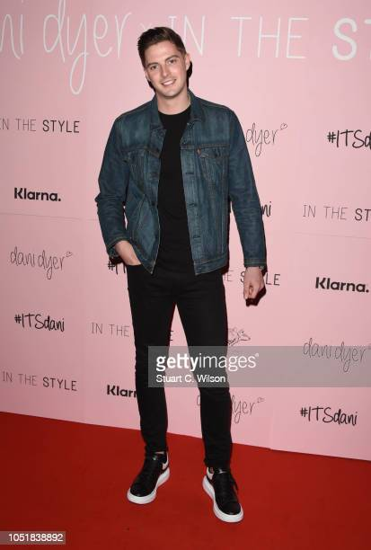 Alex George attends the 'Dani Dyer X In The Style' launch party on October 10 2018 in London United Kingdom