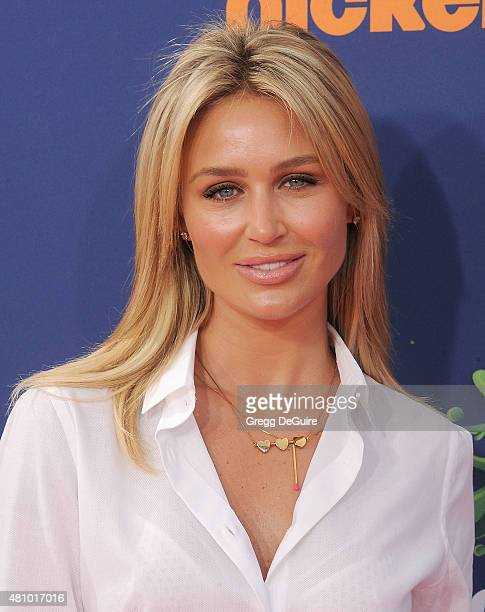 Alex Gerrard arrives at the Nickelodeon Kids' Choice Sports Awards 2015 at UCLA's Pauley Pavilion on July 16 2015 in Westwood California