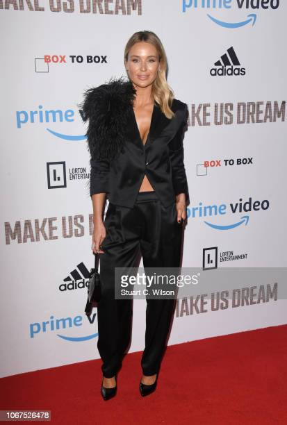 Alex Gerrard attends the World Premiere of 'Make Us Dream' at The Curzon Mayfair on November 14 2018 in London England