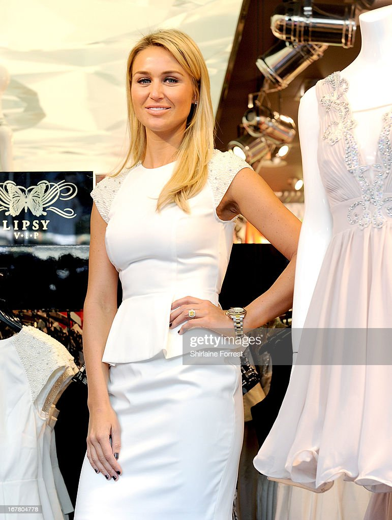Alex Gerrard is announced as the face of Lipsy VIP at Lipsy on April 30, 2013 in Liverpool, England.