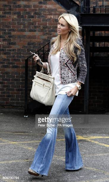 Alex Gerrard nee Curran wife of Liverpool and England footballer Steven Gerrard is followed by paparazzi after she announced she was pregnant with...