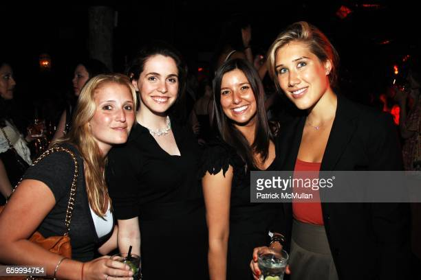 Alex Gershel Sarah Demakos Lindsay Arthurs and Cheryl Lynn Doyle attend LOUIS SARMIENTO and JASON KIM 30th Birthday Dinner and Party Hosted by DOUBLE...