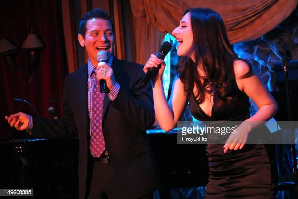 """Alex Getlin performing her show """"You're Gonna Hear from Me"""" at Feinstein's at Loews Regency on Monday night, June 11, 2012. This image:Alex Getlin,..."""