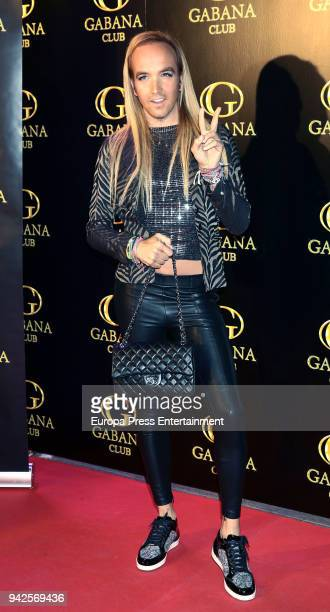 Alex Gibaja attends the 'Alejandra Rubio's birthday photocall' at Gabana disco on April 5 2018 in Madrid Spain
