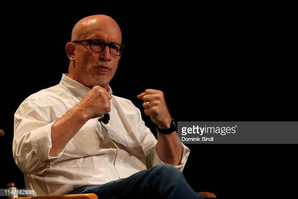 Alex Gibney attends the Tribeca Talks 10 Years Of 30 For 30 at SVA Theater on May 05 2019 in New York City